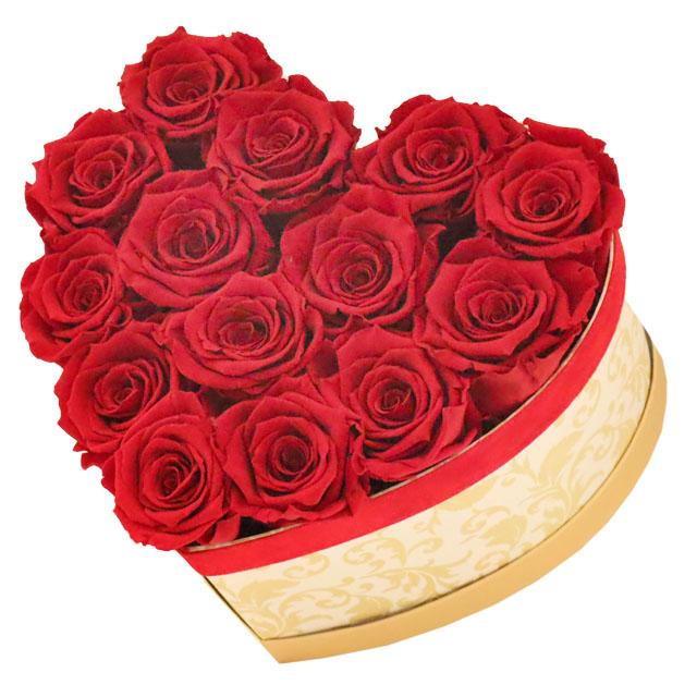 Cuore rose stabilizzate