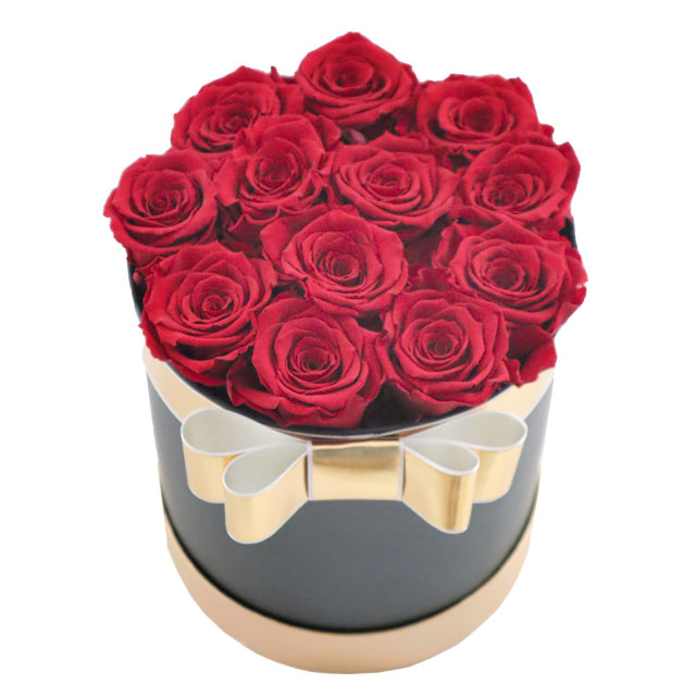 Scatola luxury rose stabilizzate